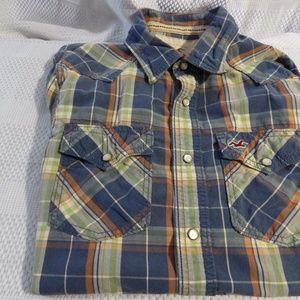 Hollister Men's Button Down Shirt size L